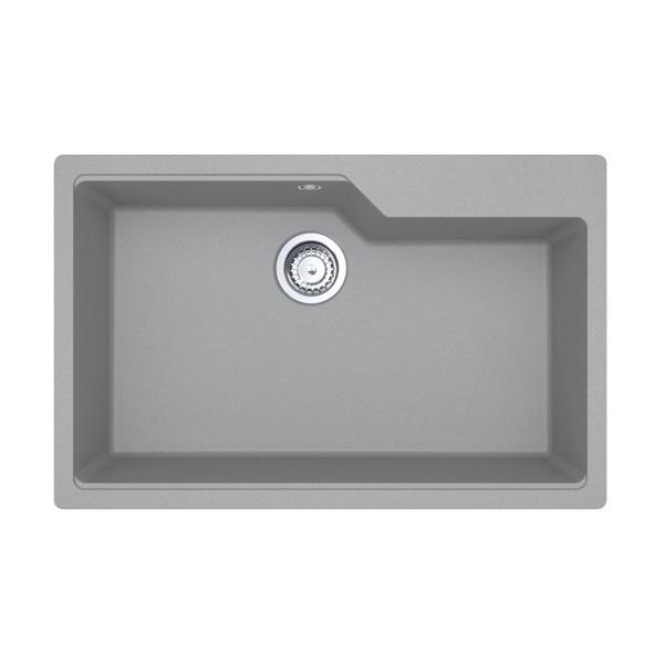 Εικόνα από Νεροχύτης Carron Phoenix Aruba 6075 78x50cm Stone Metallic