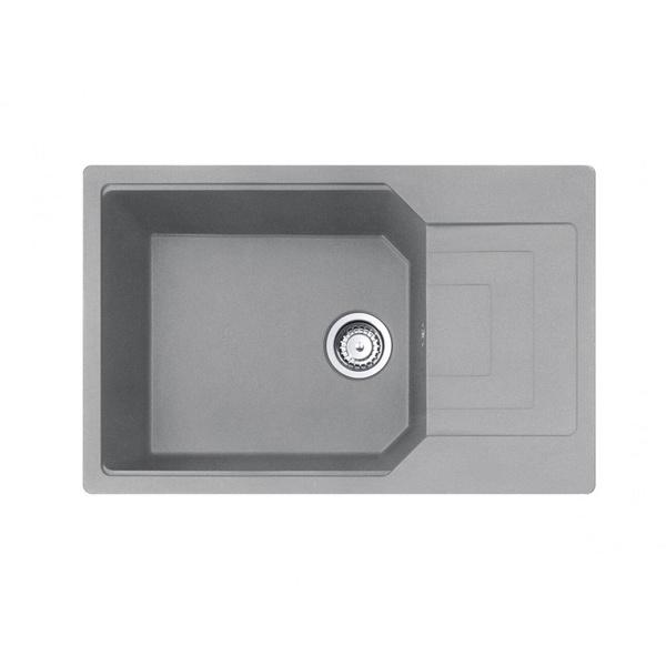 Εικόνα από Νεροχύτης Carron Phoenix Aruba 6100 78x50cm Stone Metallic