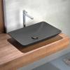 Εικόνα από Νιπτήρας Μπάνιου Bianco Ceramica Rio 38060-530 60x37.7cm Taupe Matt