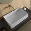 Εικόνα από Νιπτήρας Μπάνιου Scarabeo Teorema 60 5101-301 60x40cm Λευκό Ματ