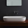 Εικόνα από Νιπτήρας Μπάνιου Scarabeo Glam 1803-301 76x39cm Λευκό Ματ