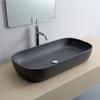 Εικόνα από Νιπτήρας Μπάνιου Scarabeo Glam 1803-401 76x39cm Μαύρο Ματ