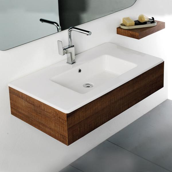 Εικόνα από Νιπτήρας Μπάνιου Bianco Ceramica Flat 36090 91.5x46.5cm