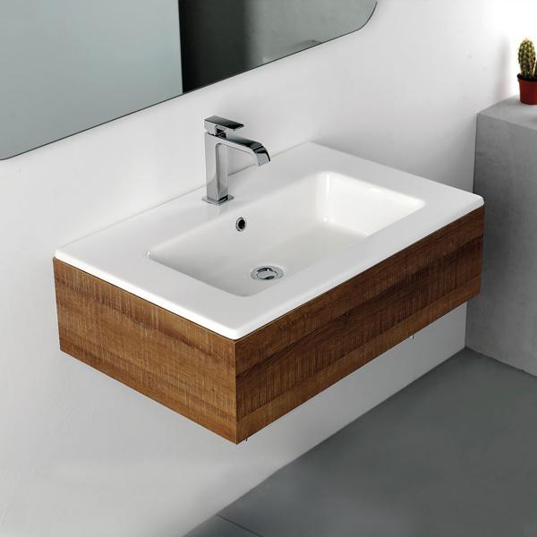 Εικόνα από Νιπτήρας Μπάνιου Bianco Ceramica Flat 36070 71.5x46.5cm
