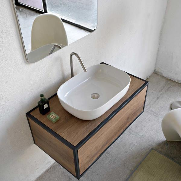 Εικόνα από Νιπτήρας Μπάνιου Scarabeo Glam 1804 56x39cm