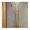 Εικόνα από Στήλη Ντούς 2 Εξόδων Armando Vicario Slim 500065-201 Brushed Gold