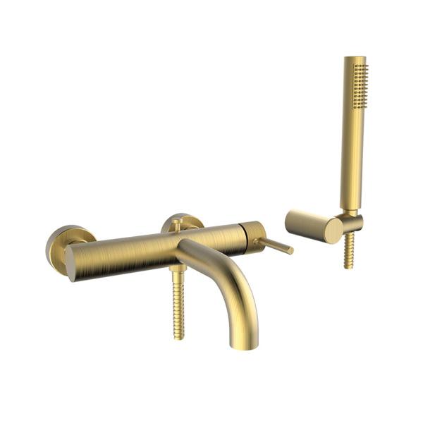 Εικόνα από Μπαταρία Λουτρού Armando Vicario Industrial 512100-201 Brushed Gold