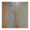 Εικόνα από Στήλη Ντούς 2 Εξόδων Armando Vicario Industrial 512065-201 Brushed Gold