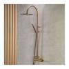 Εικόνα από Στήλη Ντούς 2 Εξόδων Armando Vicario Slim 500065-221 Antique Brass