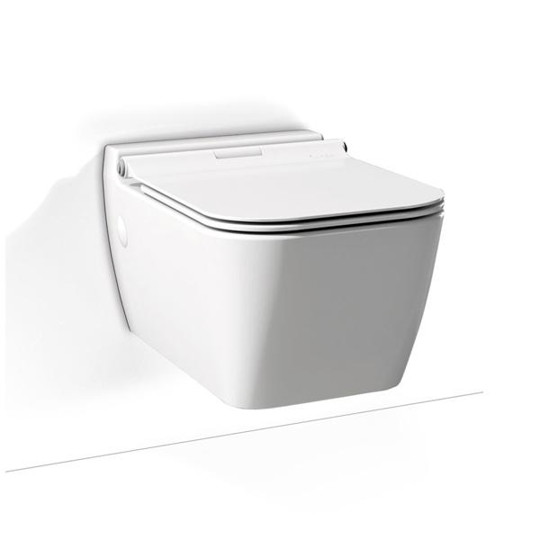 Εικόνα από Λεκάνη Κρεμαστή Serel Rita RT1000SC-301 White Matt 52cm Με Slim Soft Close Κάλυμμα