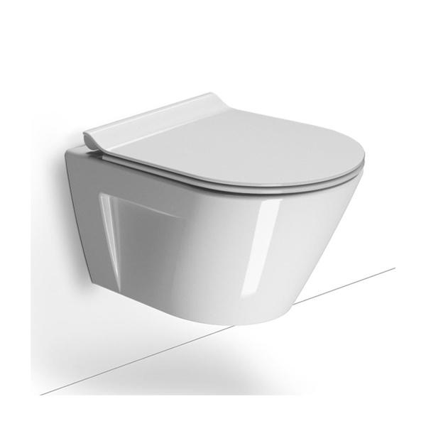 Εικόνα από Λεκάνη Κρεμαστή GSI Norm Swirl 861600SC 50cm Με Slim Soft Close Κάλυμμα