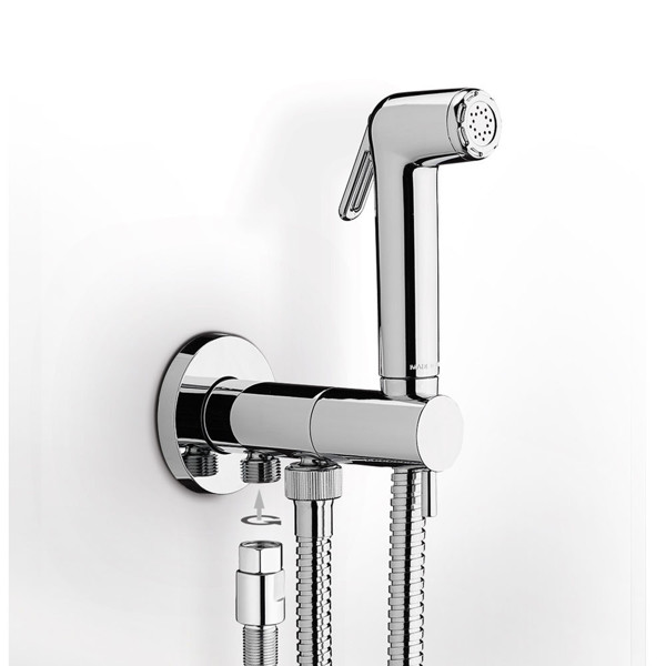 Εικόνα από Εντοιχιζόμενη Παροχή Με Ντουζάκι Για Μπιντέ Flush 2 E136005-100