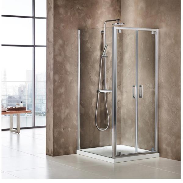 Εικόνα από Καμπίνα Ντουσιέρας Axis Twin Pivot P2X90C-100 87-91cm Clean Glass