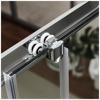 Εικόνα από Καμπίνα Ντουσιέρας Ασύμετρη 1/4 Κύκλου Axis Quadrant QX7090C-100 70x90cm Clean Glass