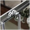 Εικόνα από Καμπίνα Ντουσιέρας 1/4 Κύκλου Axis Quadrant QX100C-100 100x100cm Clean Glass