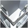 Εικόνα από Καμπίνα Ντουσιέρας Devon Flow Corner Entry  CF10080C-100 100x80cm Clean Glass