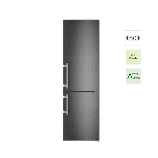 Εικόνα από Ψυγειοκαταψύκτης 60cm Liebherr  CBNbs 4835  A+++ No Frost Black Steel