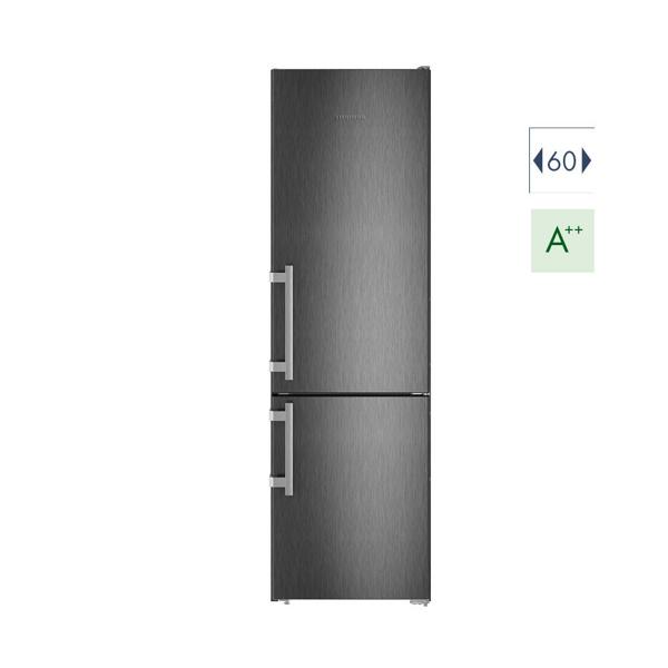 Εικόνα από Ψυγειοκαταψύκτης 60cm Liebherr CNbs 4015  A++ No Frost Black Steel