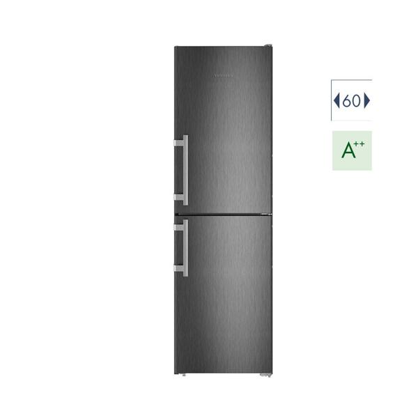 Εικόνα από Ψυγειοκαταψύκτης 60cm Liebherr CNbs 3915  A++ No Frost Black Steel