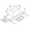 Εικόνα από Απορροφητήρας Franke Atmos 1204 Inox Εντοιχιζόμενος 120cm 3105001023