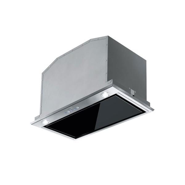 Εικόνα από Απορροφητήρας Franke BOX 537 XS/BK Εντοιχιζόμενος 52cm Μαύρος / Inox 3105001024