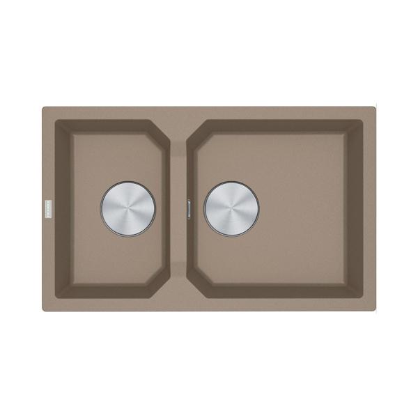 Εικόνα από Νεροχύτης Franke FX FXG 620 (81,5x50) Oyster 3142101187