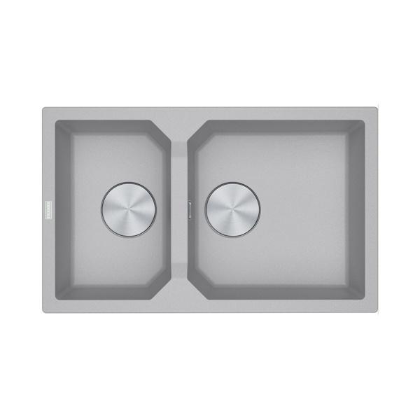 Εικόνα από Νεροχύτης Franke FX FXG 620 (81,5x50) Metallic Platinum 3142101188