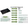 Εικόνα από Απορροφητήρας Με Επαγωγική Εστία Faber Galileo Smart BK Μαύρο Κρύσταλλο