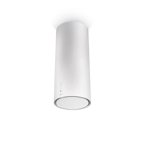 Εικόνα από Απορροφητήρας Faber Cylindra Isola EVO Plus WH Gloss A37  Λευκό Οροφής