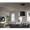 Εικόνα από Απορροφητήρας Faber Glow Plus BK Gloss Μαύρο Οροφής