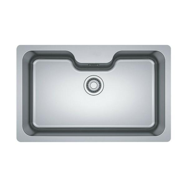 Εικόνα από Νεροχύτης Υποκαθήμενος Franke Bell BCX 110-75 TL  (81x51) Λείος Inox 3011850104