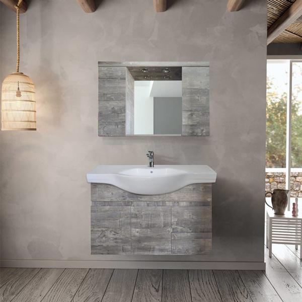 Εικόνα από Έπιπλο Μπάνιου Design No78 100cm