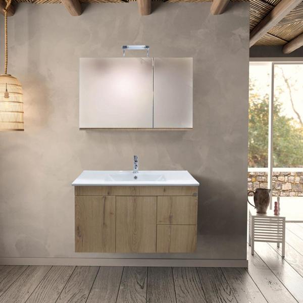 Εικόνα από Έπιπλο Μπάνιου Design No60 100cm