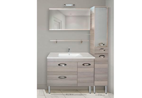 Εικόνα από Έπιπλο Μπάνιου Design No75 100cm