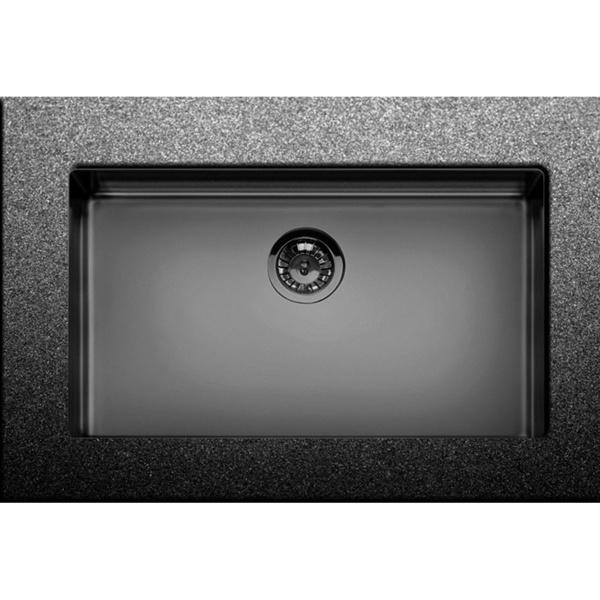 Εικόνα από Νεροχύτης Υποκαθήμενος Apell Metamorfosis MEM71 (75x44) PVD black